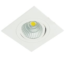 Defa Lighting Focus Quadrat Cob Led Downlight Ip44 Riktbar