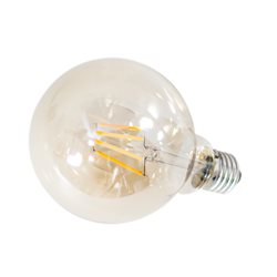 By Rydéns Filament glob 125mm amber 4W E27 LED dimbar