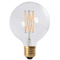 Pr Home Globlampa Led Elect Filament 125Mm 4W E27 Dimbar