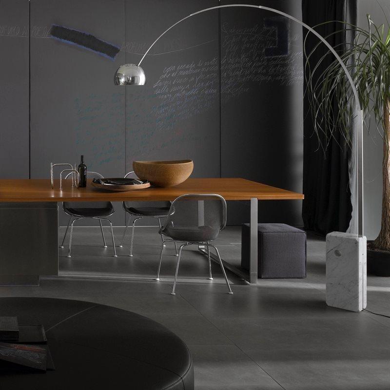 stockholms ljusbutik flos arco golvlampa led med dimmer belysning och lampor f r hem och. Black Bedroom Furniture Sets. Home Design Ideas