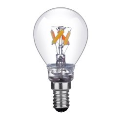 Civilight Klot Led Filament Klar 4,5W 2700K-2100K E14 Dim-To-Warm